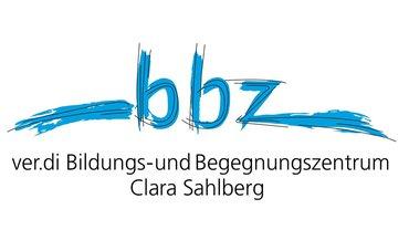 BIZ Berlin Logo Claim ver.di BBZ Clara Sahlberg