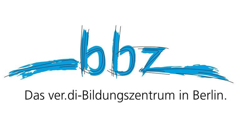 BBZ Clara Sahlberg Logo Claim BBZ ver.di BIZ in Berlin