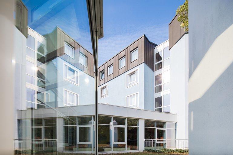 Haus Außenansicht Außenbereich