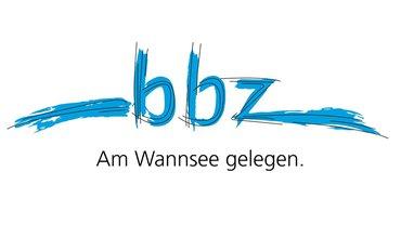 BIZ Berlin Clara Sahlberg Logo Claim BBZ am Wannsee